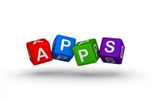 apps multicolor symbol for web design